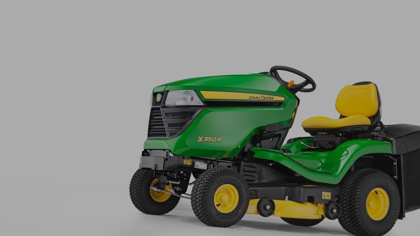 X350R, trattorini tosaerba, trattorini, Serie X300, selettore dei prodotti