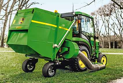 John Deere  Makes multi- tasking easier